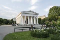 Volksgarten in Wien stockbild