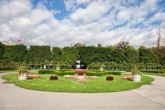 Volksgartentuin in Wenen Stock Foto