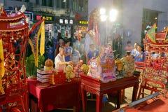 2016 Volkskulturfestival des zwischenstaatlichen (Xiamen) Gottes der alten Stadt Lizenzfreies Stockbild