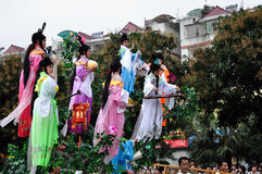 Volkskunstparade Lizenzfreie Stockfotos
