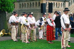 Volksorkest op St Stanislaus Day Royalty-vrije Stock Foto