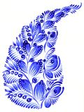 Volksornament Stock Afbeelding