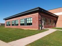 Volksschule des roten Ziegelsteines Stockfotografie