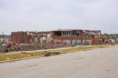 Volksschule-geschädigter Tornado Joplin MO Lizenzfreie Stockbilder