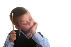 Volksschulejunge Lizenzfreies Stockbild