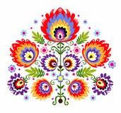 Volksstickerei-Blumen vektor abbildung