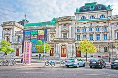 Volkstheater或人剧院在维也纳 库存图片