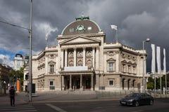 Volkstheater a Vienna Fotografie Stock Libere da Diritti