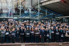 Volkstrauertage in Frankreich Lizenzfreies Stockfoto