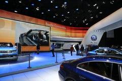 Volkswagen's Das Auto display at the auto show Royalty Free Stock Photos