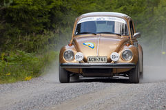 Volkswagen 1500 in a rally Stock Photos