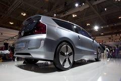 Volkswagen 2010 oben! Konzeptauto bei Autoshow 2010 Stockbild