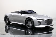 A Volkswagen AG Audi e-Tron Spyder stock photo