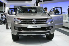 Volkswagen Amarok. At the Moscow International Automobile Salon (MIAS-2010) August 25 - September 5 Royalty Free Stock Images