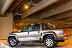 Volkswagen Amarok 2014 Stock Images