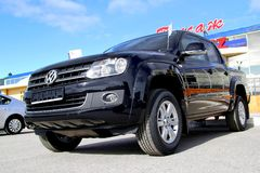 Volkswagen Amarok Royalty Free Stock Photography