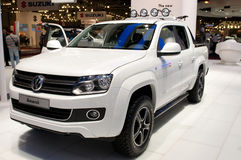 Volkswagen Amarok - russian premiere Stock Photos