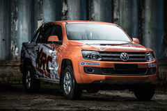 Volkswagen Amarok tuning Royalty Free Stock Images