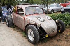 Volkswagen-Auto nach Maß an der Ausstellung stockfotografie
