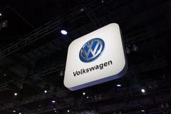 Volkswagen-autoembleem Stock Afbeeldingen