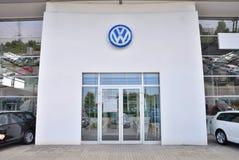 Volkswagen-autoopslag Stock Afbeelding