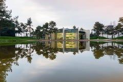Volkswagen Autostadt in Wolfsburg, Germany royalty free stock photo