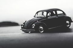 Volkswagen Beatle Car Royalty Free Stock Photo