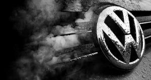 Volkswagen bedrägeriskandal Arkivbild