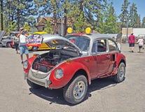 Volkswagen Beetle приведенное в действие V-6 Стоковое Изображение