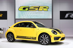 Volkswagen Beetle 2014 GSR Стоковые Фото