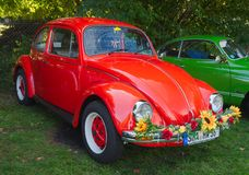 Volkswagen Beetle Royalty Free Stock Images