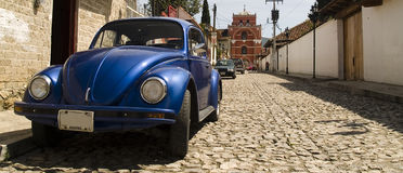 Volkswagen beetle Royalty Free Stock Image