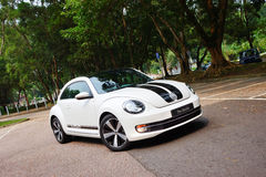 Volkswagen Beetle 2012 Stockfotografie