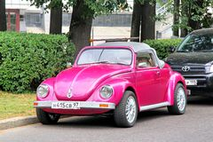 Volkswagen Beetle Royaltyfri Fotografi