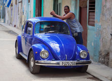 Volkswagen Beetle Immagine Stock Libera da Diritti