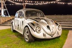 Volkswagen Beetle bil royaltyfria bilder