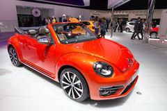 Волна Volkswagen Beetle Cabrio Стоковые Фотографии RF