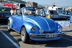 Volkswagen beetle Cabriolet 1303 convertible front Royalty Free Stock Photography