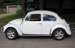 Volkswagen Beetle clássico Fotos de Stock Royalty Free