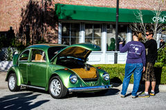 Volkswagen Beetle d'annata Fotografia Stock Libera da Diritti