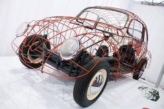 Volkswagen Beetle  on display Royalty Free Stock Image