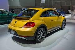 Volkswagen Beetle diuna Turbo Fotografia Stock
