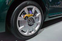 Volkswagen Beetle-Duin Stock Afbeeldingen
