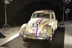 Volkswagen Beetle Herbie Royaltyfria Foton