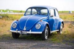 Volkswagen Beetle - Kaefer - автомобиль черепашки ретро Стоковое фото RF