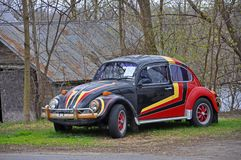 1974 Volkswagen Beetle, New York, USA stock photography