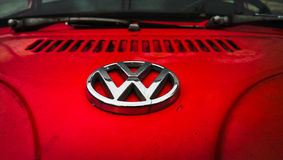 Volkswagen Beetle 1974 Stock Images