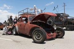 Volkswagen Beetle post-apocalyptic survival vehicle Stock Photography