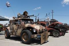 Volkswagen Beetle post-apocalyptic survival vehicle Stock Photos