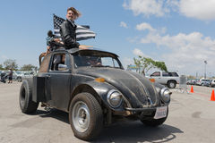 Volkswagen Beetle post-apocalyptic survival vehicles Stock Photo